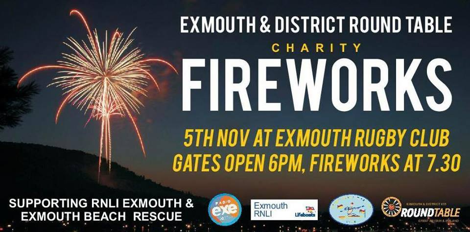 Exmouth Fireworks 2018