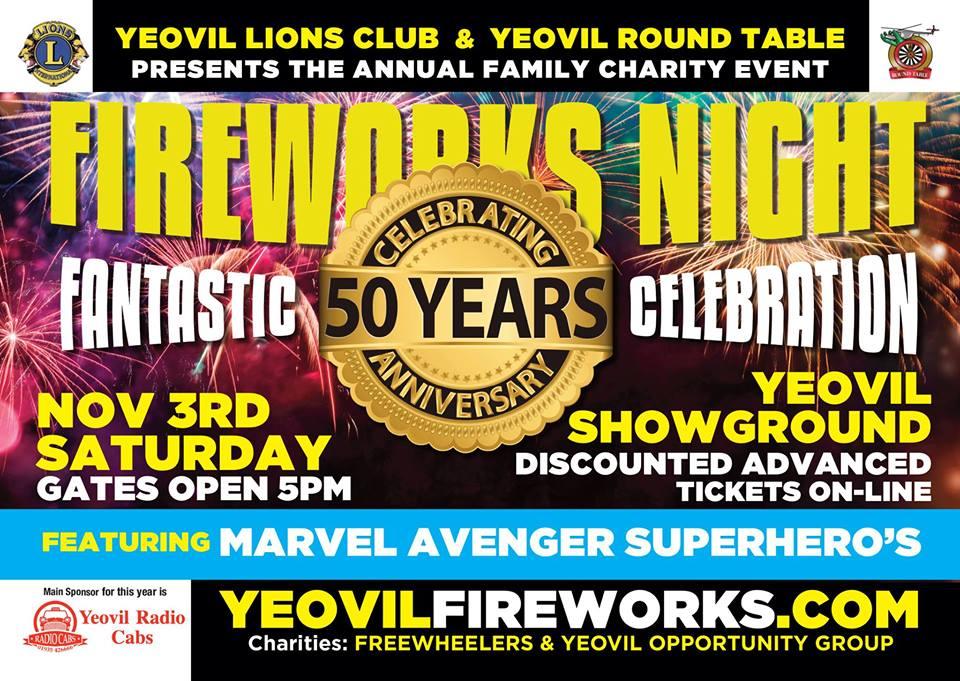 Fireworks Yeovil