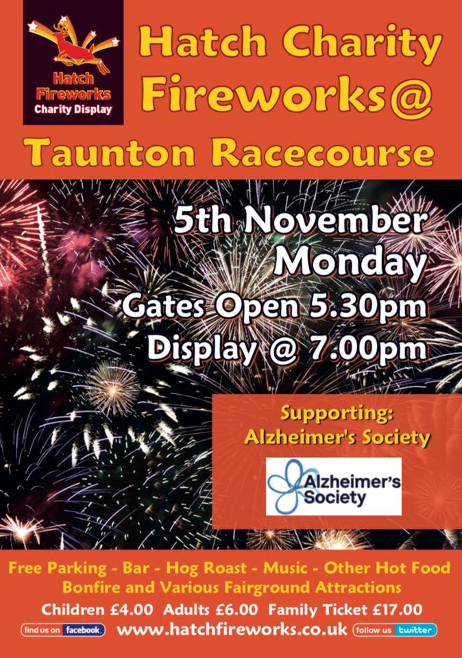 FIREWORK DISPLAYS IN DEVON DORSET AND SOMERSET 2018 Taunton