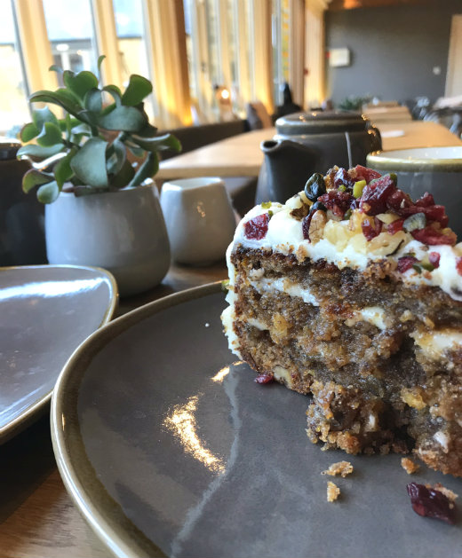 Best Cafes in South Somerset Jordan's cake