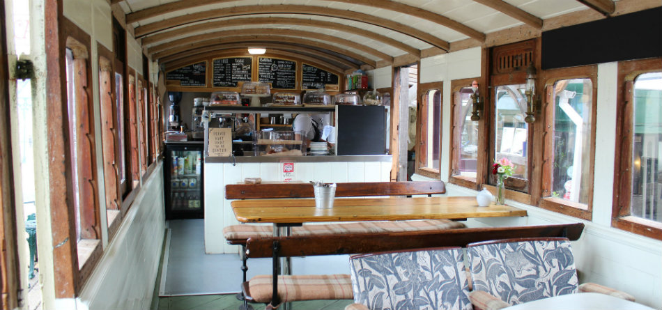 Best Cafes in South Somerset The Railway Carriage Cafe