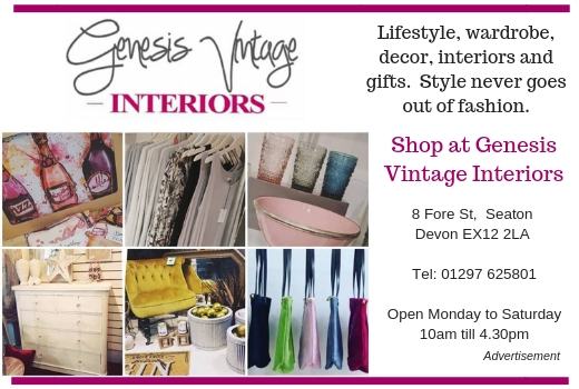 What's On In East Devon Genesis Vintage Interiors