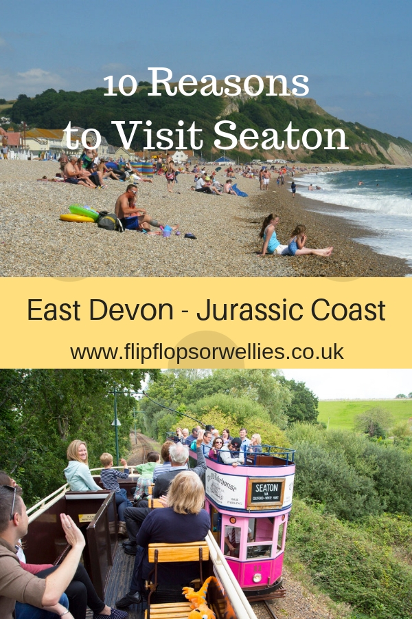10 Reasons to Visit Seaton - pin for later