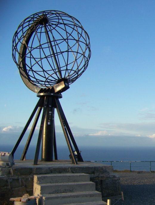 Planning a European Road Trip Nordkapp Globe