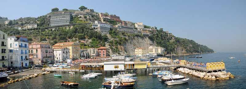 Exploring Sorrento Marina Grande