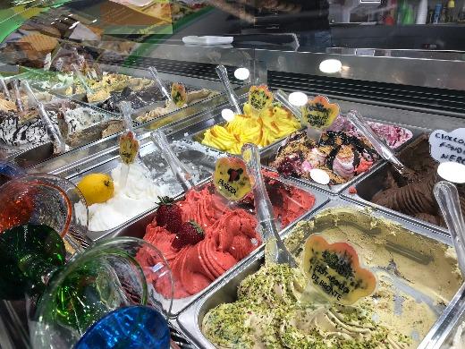 Exploring Sorrento fabulous gelato