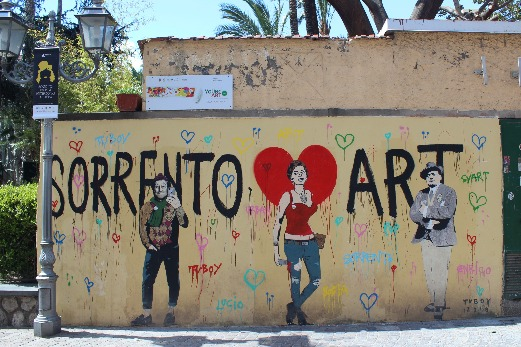 Exploring Sorrento street art