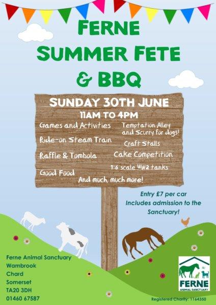 Ferne Summer Fair poster