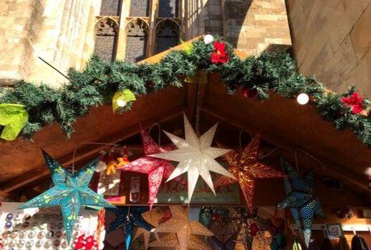 Stars at Christmas Market