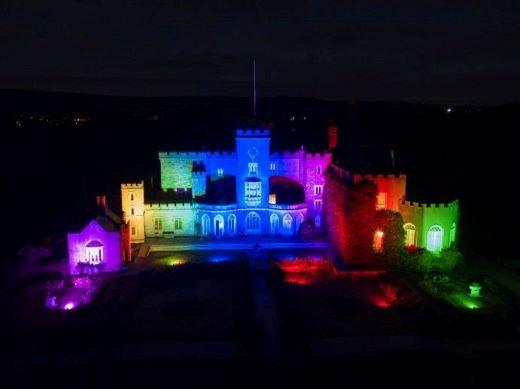Powderham Castle list up for Christmas