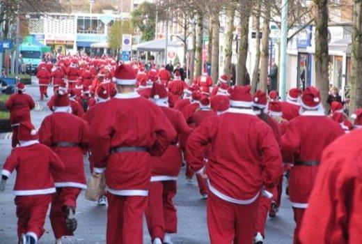 Santa Run Plymouth
