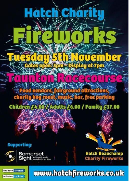Hatch Fireworks Taunton 2019