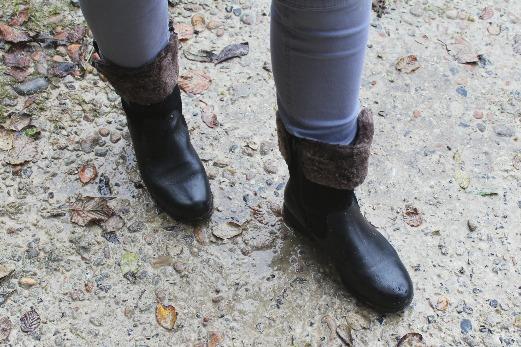 Hotter Windsor Boots black front