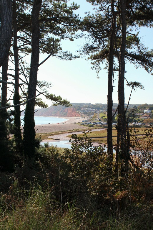 Budleigh Salterton South West Coast Path