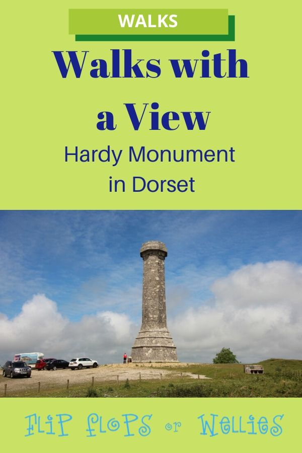 Hardy Monument walk in Dorset pin for later