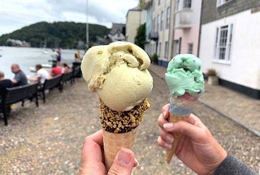 Dartmouth Ice Cream credit Devon with Kids