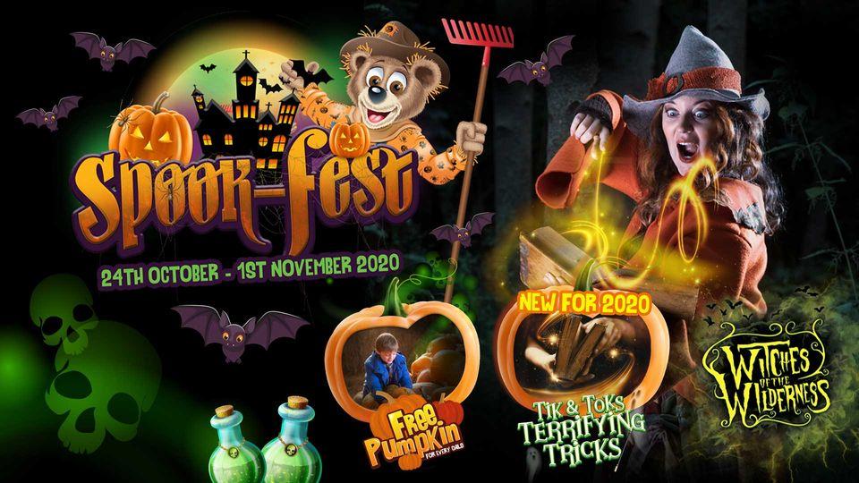 Halloween events in Devon  Crealy 2020