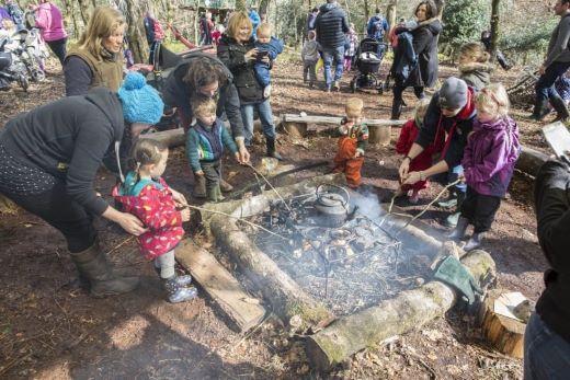 Halloween Events in Devon Touch-of-The-Wild Forest School
