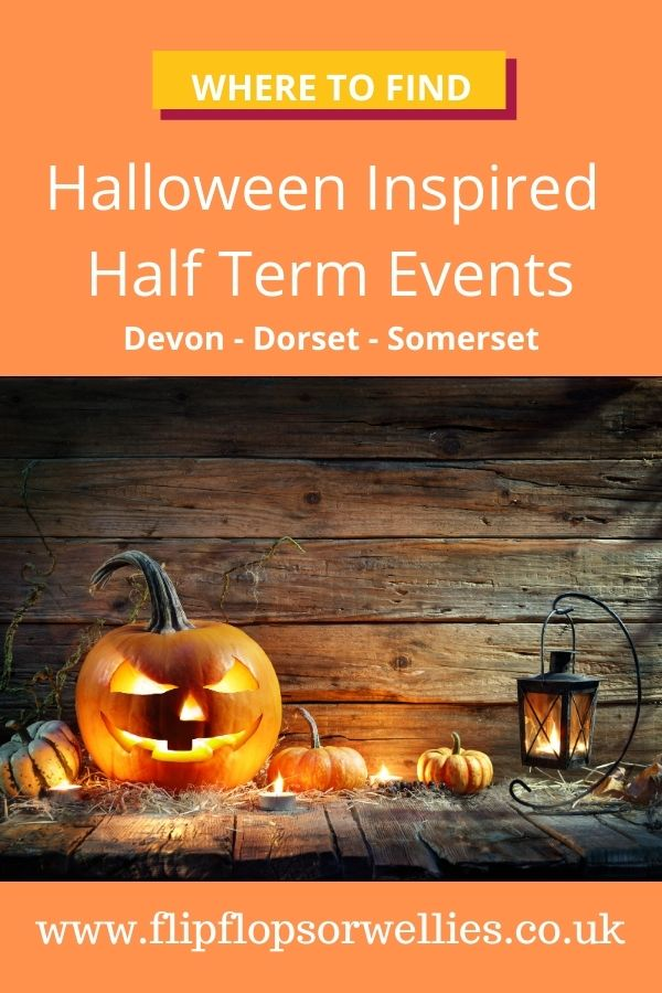 Halloween Events in Devon -  pin for later