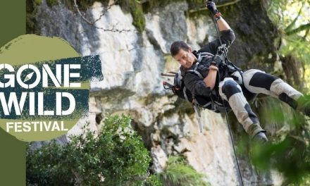 Gone Wild Festival in Exeter, Devon with Bear Grylls